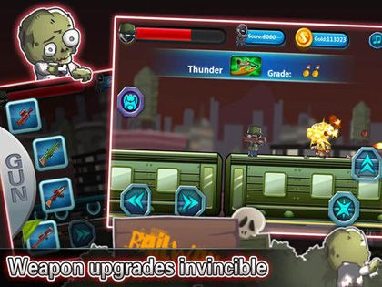 Screenshot Attack! Kill all Zombies on iPhone