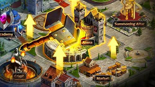 Strategische RPG-Spiele Eternal fury 2: Fantasy strategy RPG auf Deutsch