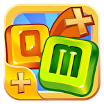 Aquizmatics: Mathematics match puzzle test icono