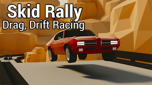 Skid rally: Drag, drift racing Symbol