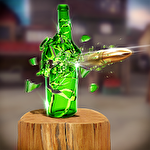 Bottle shoot 3D game expert icono