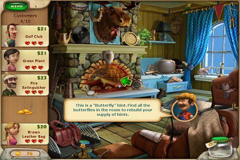 Captura de pantalla La historia del granero: Primera en iPhone
