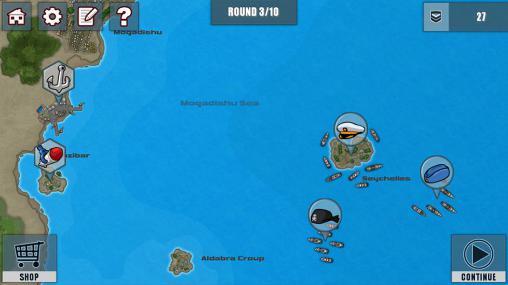 Fleet combat 2: Shattered oceans Screenshot