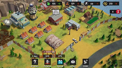 Actionspiele Survival block für das Smartphone