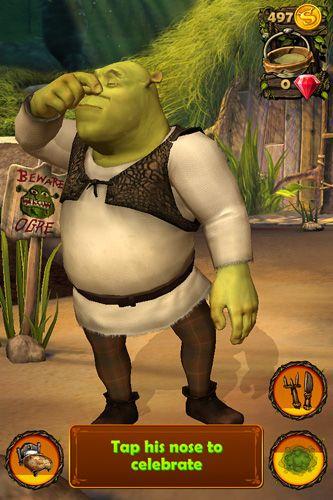 Taschen Shrek auf Deutsch