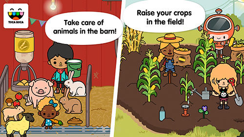 Toca life: Farm pour Android