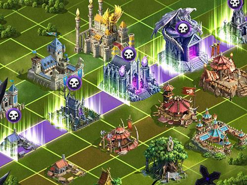 Online Strategiespiele Aegis: Magic defender auf Deutsch
