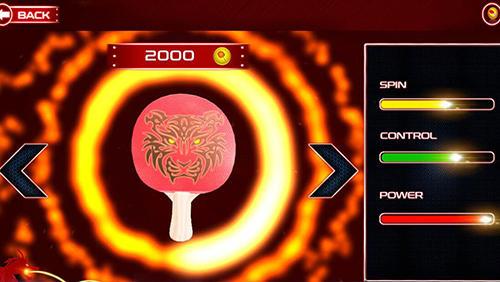 Table tennis games Screenshot