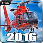 Helicopter simulator 2016. Flight simulator online: Fly wings Symbol