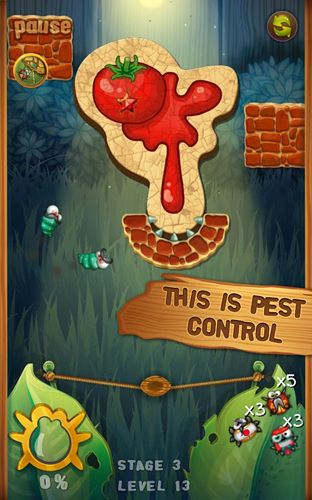 Arcade games: download Beetle breaker to your phone