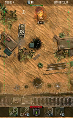 Tigers: Waves of tanks für Android