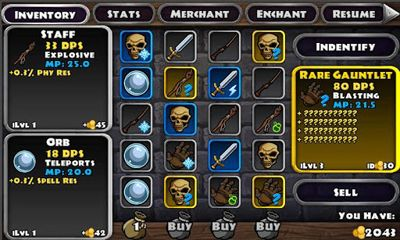Dungeon Quest pour Android