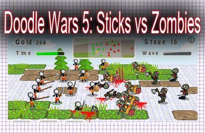 logo As Batalhas de Doodle 5: Sticks contra Zumbis