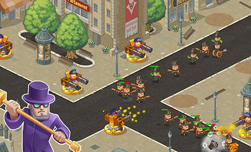 Steampunk syndicate 2: Tower defense game für Android