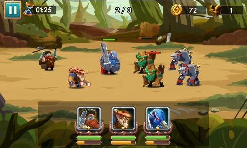 We heroes: Born to fight Screenshot