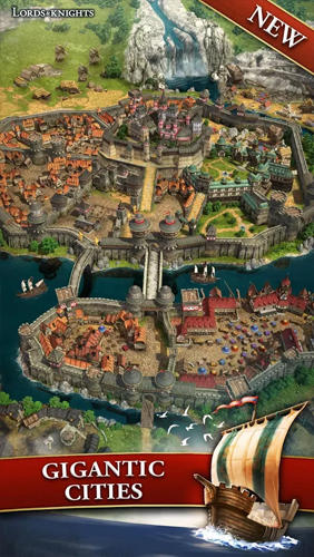 Online Lords and knights: Strategy MMO für das Smartphone