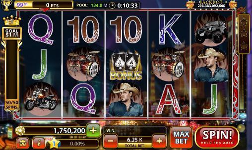 Glücksspiel Jason Aldean: Slot machines für das Smartphone