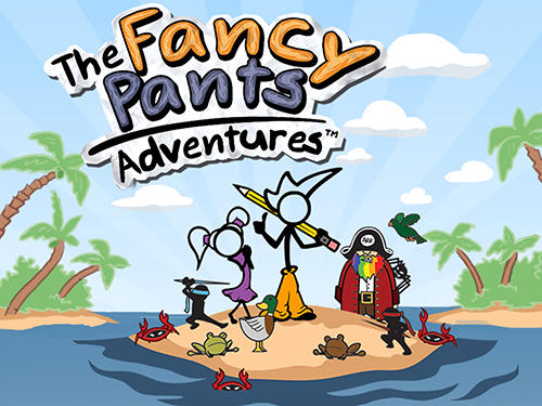 The fancy pants adventures скриншот 1