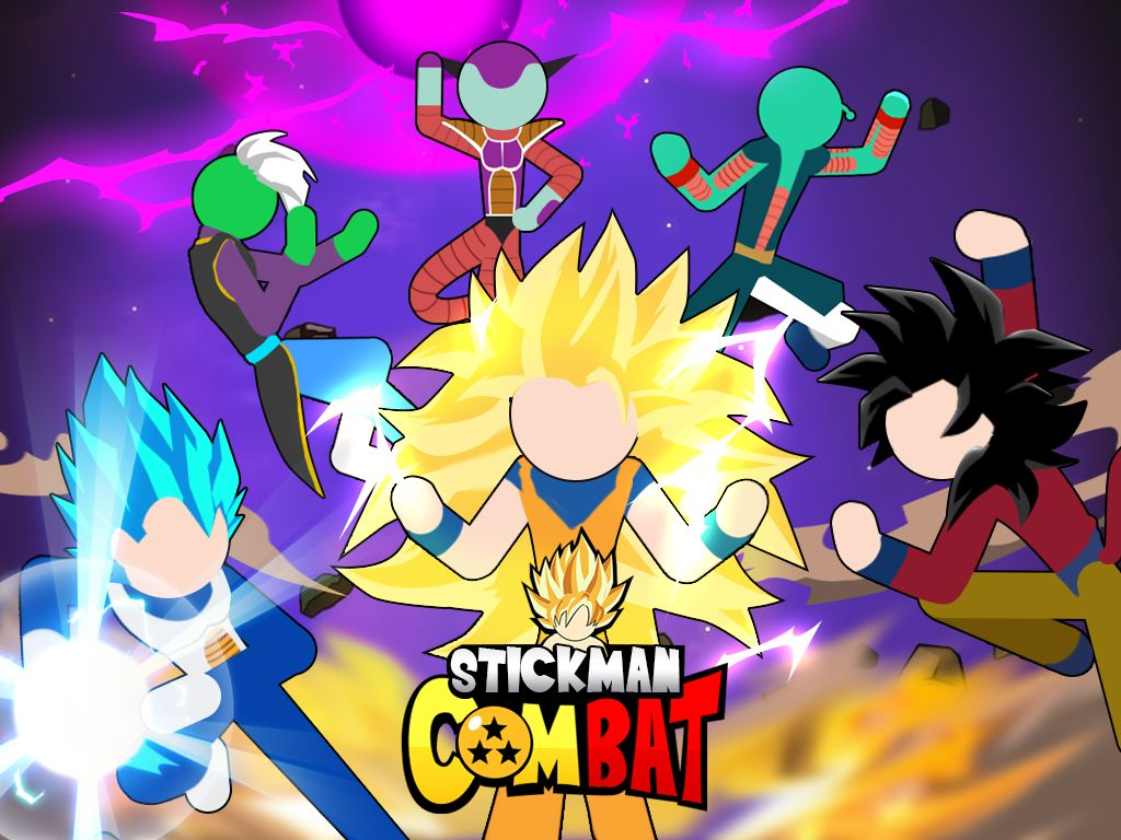 Stickman Combat - Super Dragon Hero captura de pantalla 1
