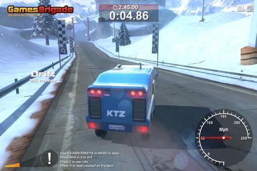 Rallye Rally point 4 auf Deutsch