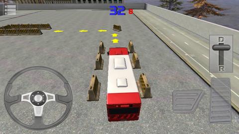 Le Parking du Bus 3D