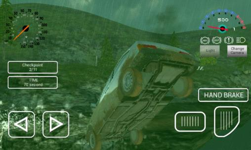 Russian car driver HD for Android