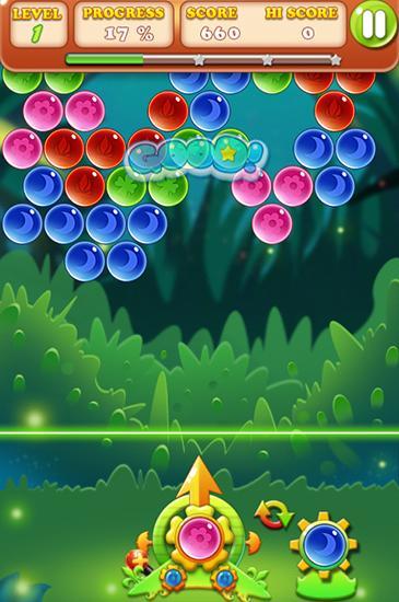 Arcade-Spiele Bubble bubble für das Smartphone