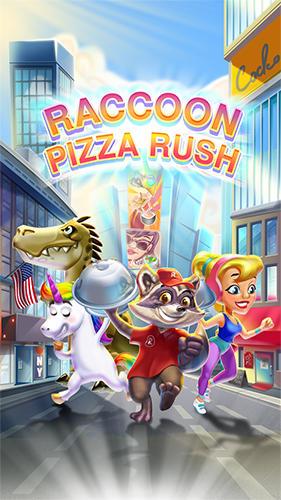 Raccoon pizza rush Screenshot