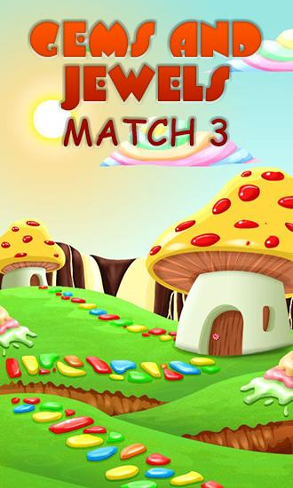 Gems and jewels: Match 3 скриншот 1