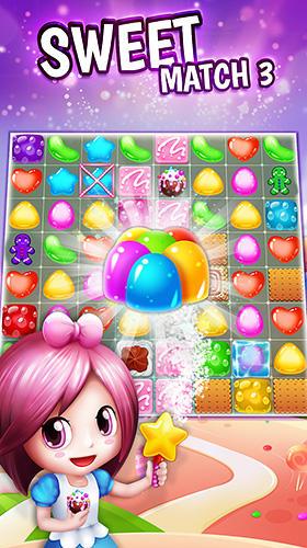 Sweet match 3 Screenshot