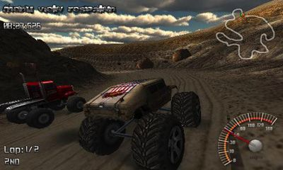 Monster Truck Rally en español
