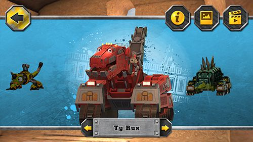 Dinotrux: Gérez une construction féroce