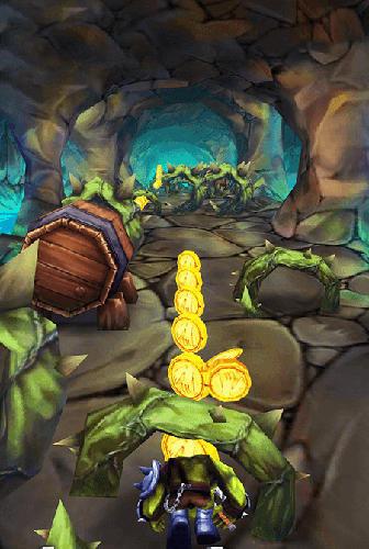 Аркады: скачать Super monster temple dash 3Dна телефон