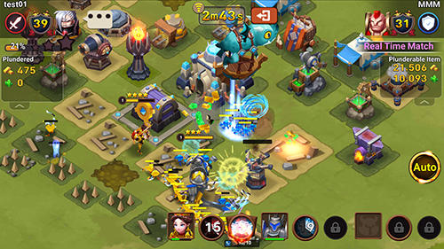 Online Strategy games Nine stones in English
