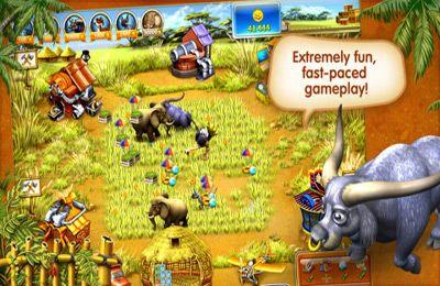 Cтратегії: завантажити Весела ферма 3 - Мадагаскар на телефон