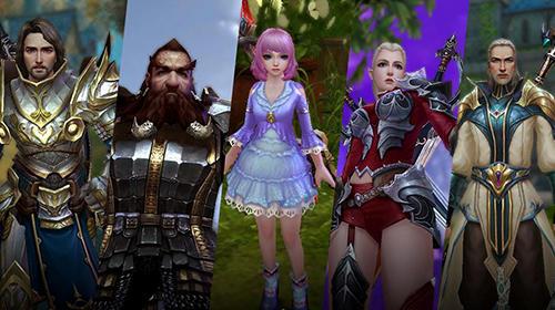 RPG-Spiele Mia online für das Smartphone