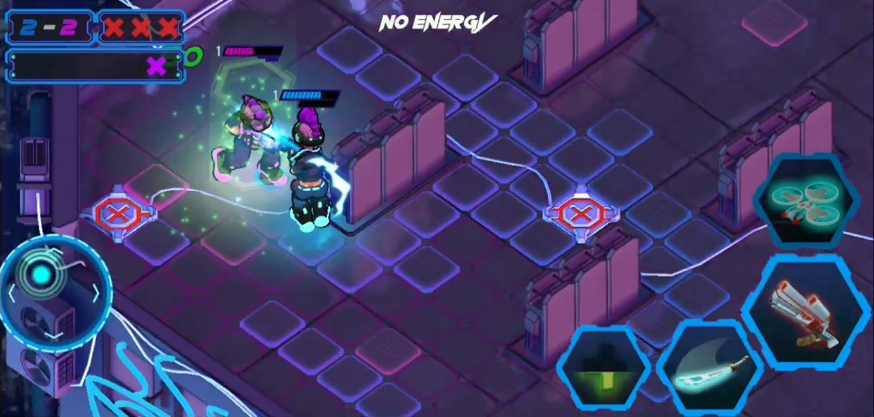 Gridpunk - 1v1 Cyberpunk Arena Rivals スクリーンショット1