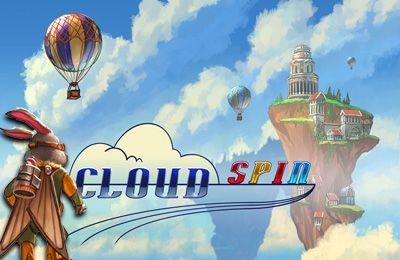 логотип Кружение в облаках