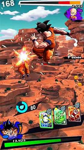 Kampfspiele: Lade Dragonball: Legenden auf dein Handy herunter