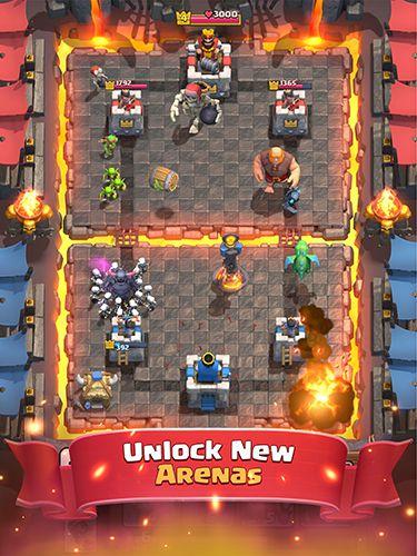Мультиплеер игры: скачать Clash royale на телефон