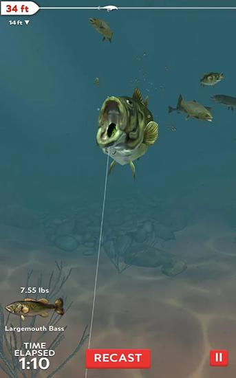 Rapala fishing: Daily catch screenshot 1