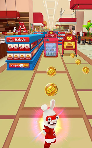 Rabbids Arby's rush für Android