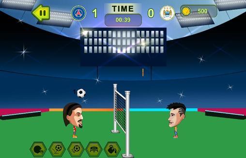 Arcade-Spiele Head football: Soccer stars für das Smartphone