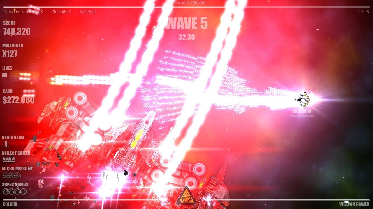 Beat Hazard 2 screenshot 1
