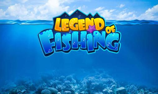 Legend of fishing icon