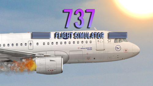 logo Simulador de vuelo 737