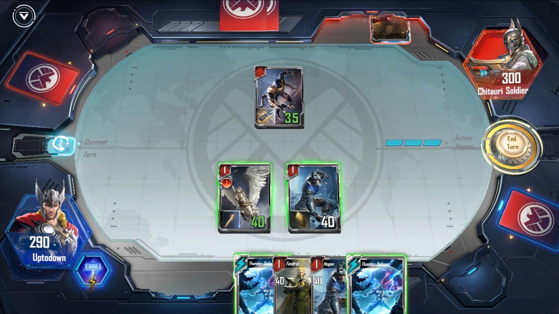 MARVEL Duel screenshot 1