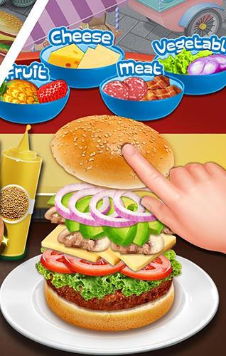 Kulinarisch Street food stand cooking game auf Deutsch