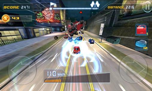Phone racing 3D. Car rivals: Real racing para Android