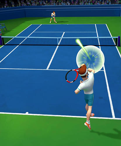 Tennis ace: Free sports game auf Deutsch
